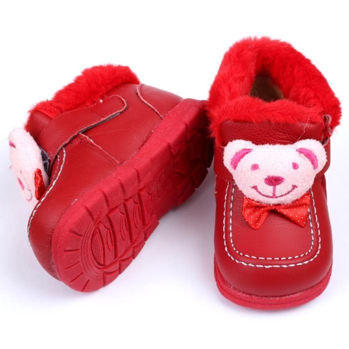 Les super hiver chaud baby boots en cuir souple des bottes baby shoes bébés chaussures enfants filles garçons premier nourrissons ma