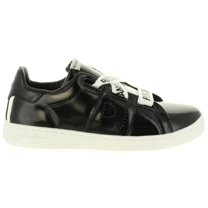 5a888cf1b3d Chaussures de sport pour Femme PEPE JEANS PLS30735 BROMPTON 999 ...