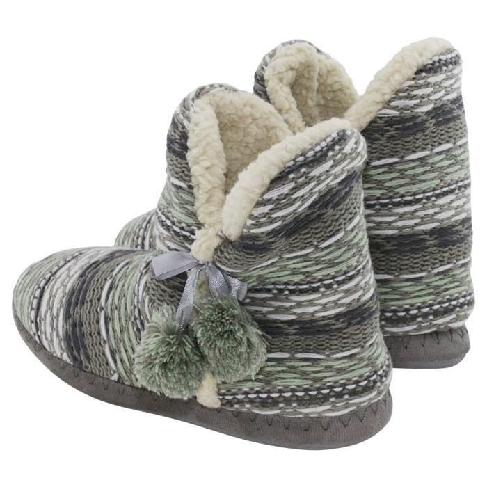 Trendtwo Chaussures 1renps 2 Taille Femme Pantoufles 1 Laine 39 Mocassins rqZxr1