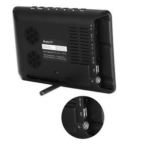 """LEADSTAR DVB-T-T2 7"""" Téléviseur analogique Tablette Télévision numérique résolution 800x480 portable - XY FR"""