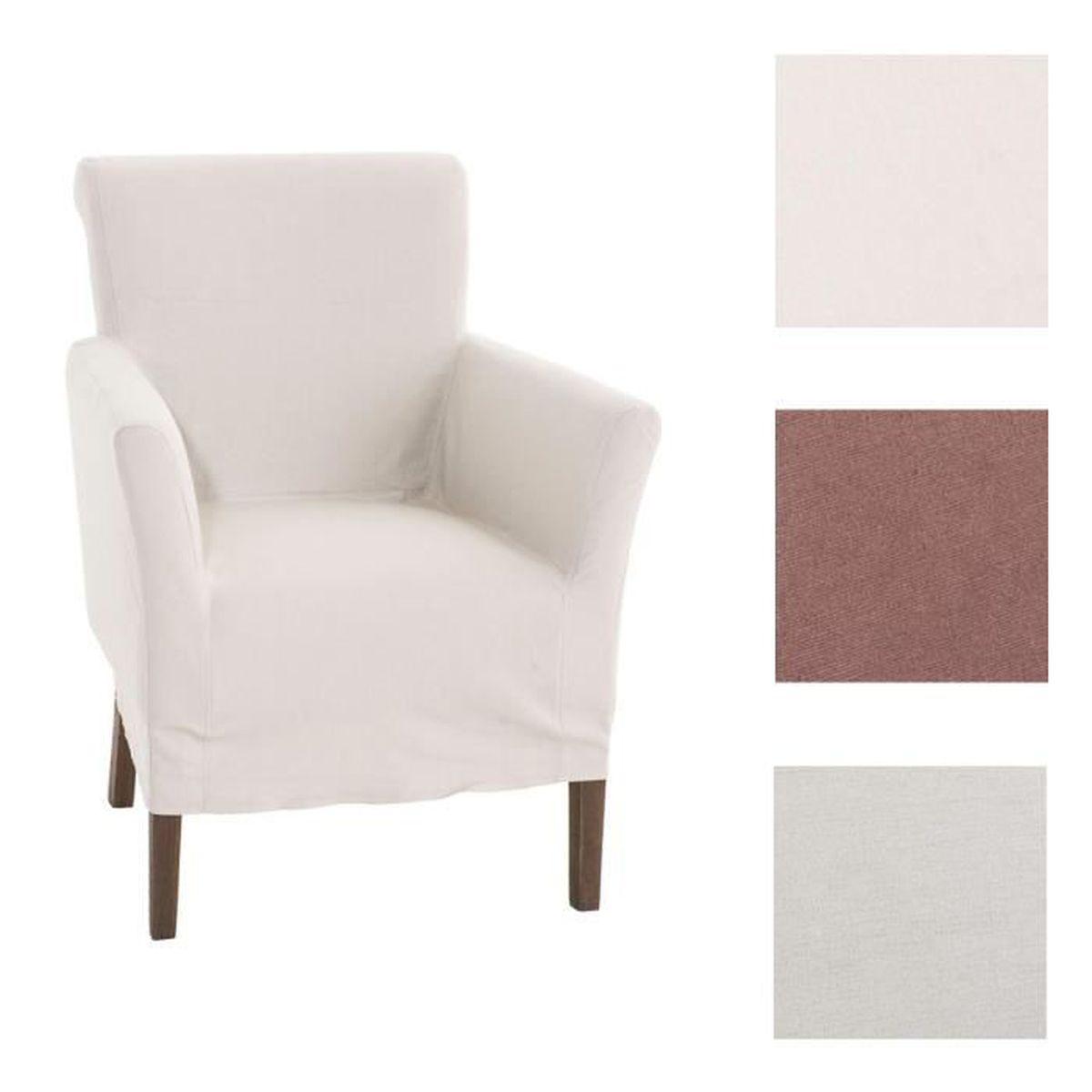 clp fauteuil rembourr vivian avec housse amovible hauteur de l 39 assise 48 cm couleurs au choix. Black Bedroom Furniture Sets. Home Design Ideas