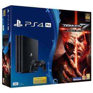CONSOLE PS4 PS4 Pro 1 To + Tekken 7 Deluxe Edition Jeu PS4