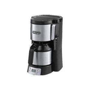 DELONGHI ICM15750 Cafeti?re filtre programmable avec verseuse isotherme - Noir