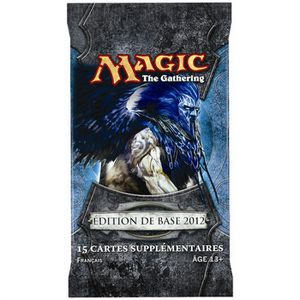 CARTE A COLLECTIONNER Magic The Gathering - Booster Magic 2012