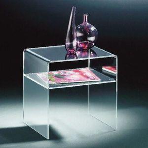 TABLE BASSE table basse moderne  table de chevet acrylique eff