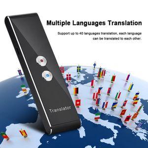 TRADUCTEUR ÉLECTRONIQUE T8 Traducteur vocale Instantanée, Traducteur Intel