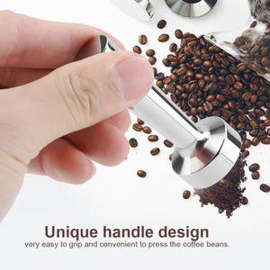 SERVICE À THÉ - CAFÉ Tamper Café Espresso d'acier inoxydable solide pou