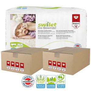 COUCHE Maxi pack 300 Couches bio écologiques Swilet taill