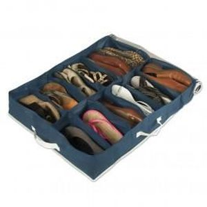 rangement chaussures sous lit achat vente rangement chaussures sous lit pas cher soldes. Black Bedroom Furniture Sets. Home Design Ideas
