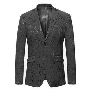 4761e41f1eac VESTE Hommes Floral Imprimé Blazer Veste Costumes d affa