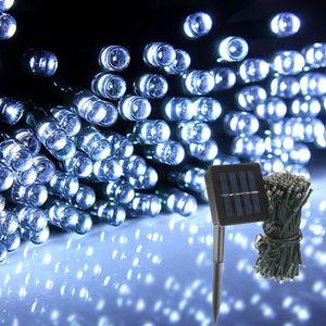 Arbre solaire exterieur achat vente pas cher - Guirlande lumineuse exterieur 20m ...