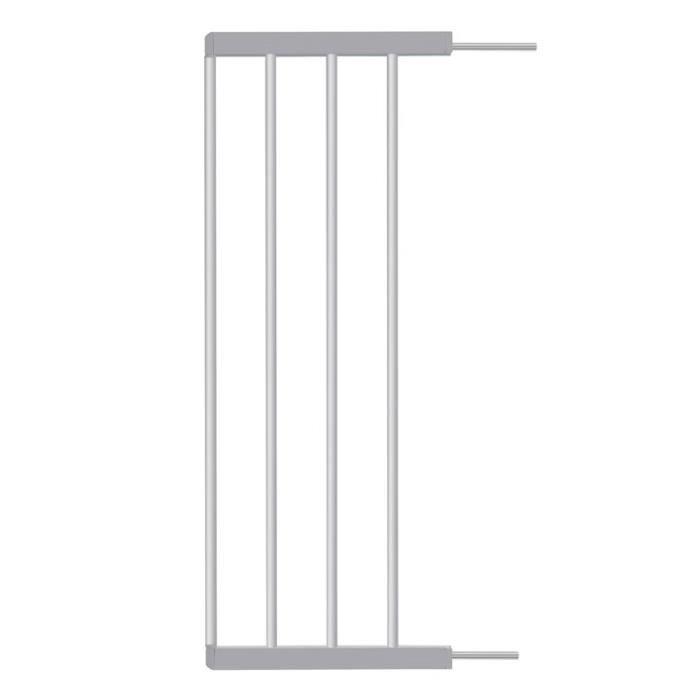BADABULLE Extension de barrière de sécurité enfant 28cm - Grise