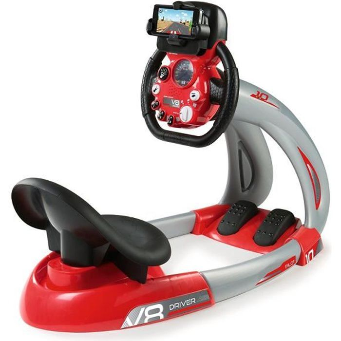 SMOBY Pilot V8 Driver + Support