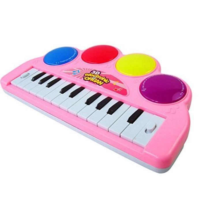 kids toddler p dagogique musical piano clavier lectronique musique d veloppement enfants jouet. Black Bedroom Furniture Sets. Home Design Ideas