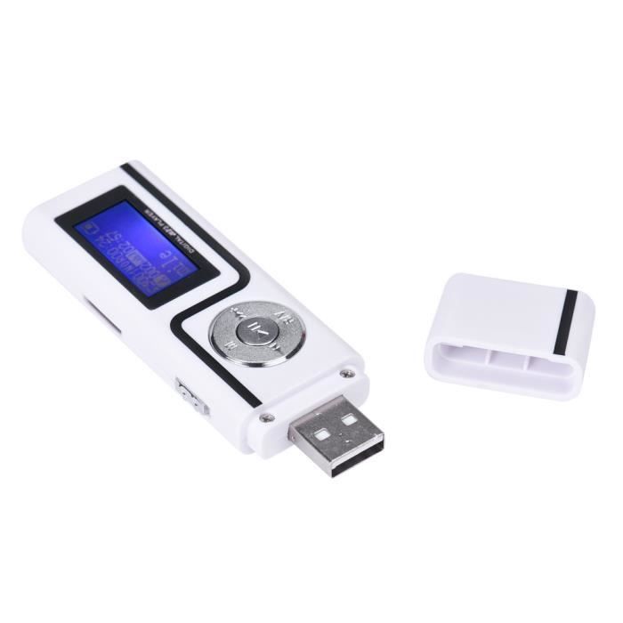 LECTEUR MP3 Lecteur MP3 USB Lecteur de musique Support écran L