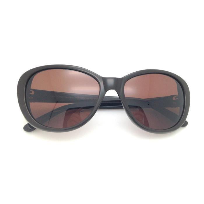Glasses Classic Cool Vintage en Cat Retro Eye de soleil Cadres Brown plastique Lunettes style rfqvrx1