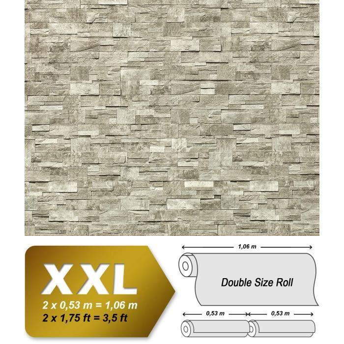 Xxl Papier Peint Edem 918 34 Intisse Mur De Pierre Naturelle Gris