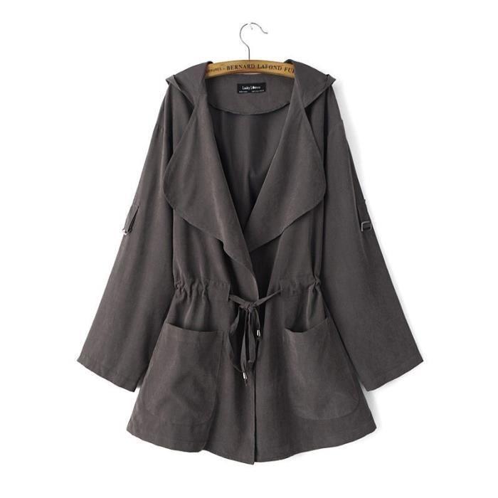 Manteau de printemps pour femme