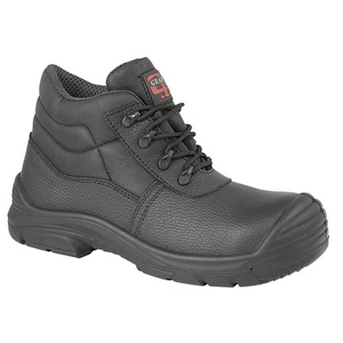 Grafters - Bottines chukka de sécurité (pieds larges) - Homme