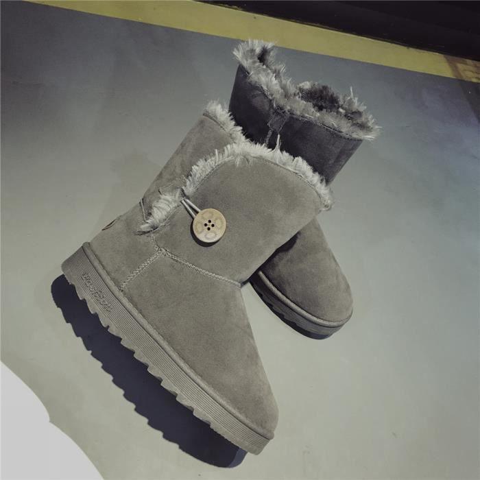 Femmes des éLastique Meilleure Chaussures 40 AntidéRapant Qualité neiges Bottines Plus Taille 35 pTSqwS