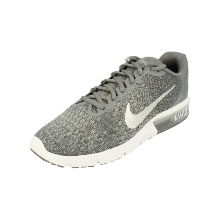 Nike Femme Air Max Sequent 2 Running Trainers 852465 Sneakers Chaussures 008 Gris Gris - Achat / Vente basket  - Soldes* dès le 27 juin ! Cdiscount