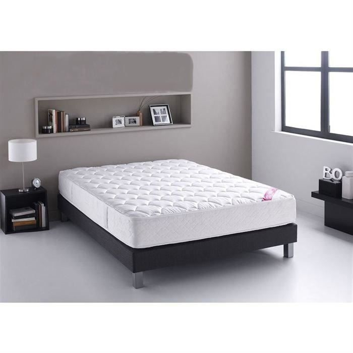 matelas 160x200 pas cher free ensemble lit sommier matelas x complet avec led pas cher with. Black Bedroom Furniture Sets. Home Design Ideas