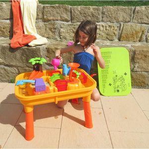 table sable eau pour enfants achat vente jeux et jouets pas chers. Black Bedroom Furniture Sets. Home Design Ideas