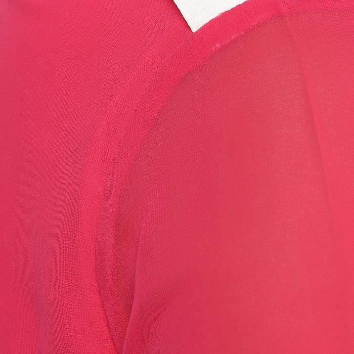 Womens Pink Contrast Cuff Dress MLHC9 Taille-36