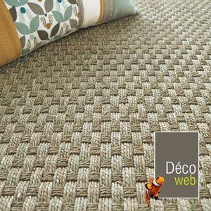 tapis jonc de mer achat vente pas cher. Black Bedroom Furniture Sets. Home Design Ideas