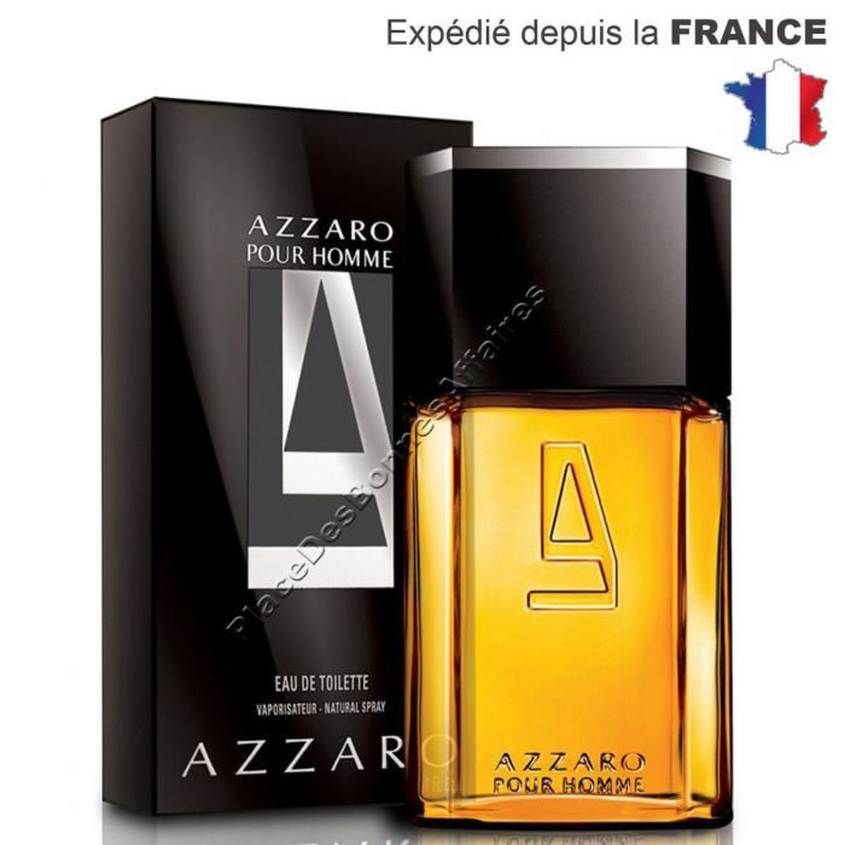 parfum pour homme azzaro pour homme eau de toilette 200 ml achat vente eau de toilette. Black Bedroom Furniture Sets. Home Design Ideas