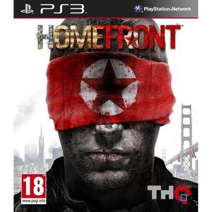 JEU PS3 HOMEFRONT / Jeu console PS3