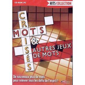 JEU PC MOTS CROISES & AUTRES JEUX DE MOTS