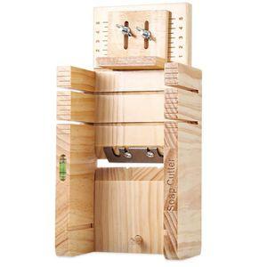 DISTRIBUTEUR DE SAVON Boîte de coupe de savon en bois