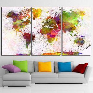 tableau decoration salon carte du monde achat vente pas cher. Black Bedroom Furniture Sets. Home Design Ideas