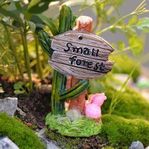 Maison jardin décoratif en résine rouge champignon ornements pour jardin Yard decor