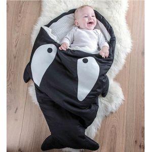 GIGOTEUSE - TURBULETTE bébé sac de couchage Requin GIGOTEUSE Noir df5855081a4