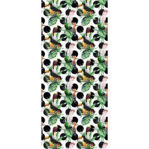 PAPIER PEINT Tropical Birds and Flowers, Papier peint intissé,