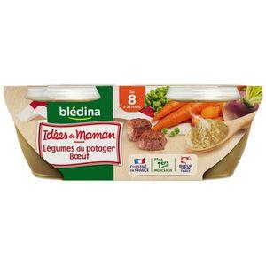 PLATS PRÉPARÉS SOIR BLEDINA Les Les idées de maman Légumes du potager