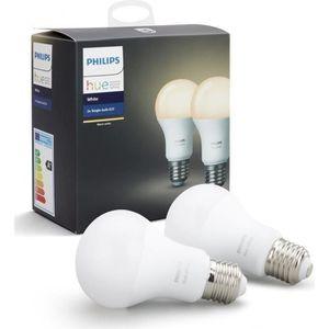 AMPOULE INTELLIGENTE PHILIPS HUE Pack de 2 ampoules connectées White E2