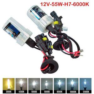 PHARES - OPTIQUES SERDA-RUN® 55W H7 Xenon KIT LED Fog Tail double to