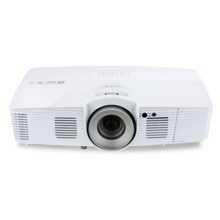 Acer V7500 - Vidéoprojecteur DLP 3D Full HD 1080p - HDMI - 2500 Lumens - Lens Shift