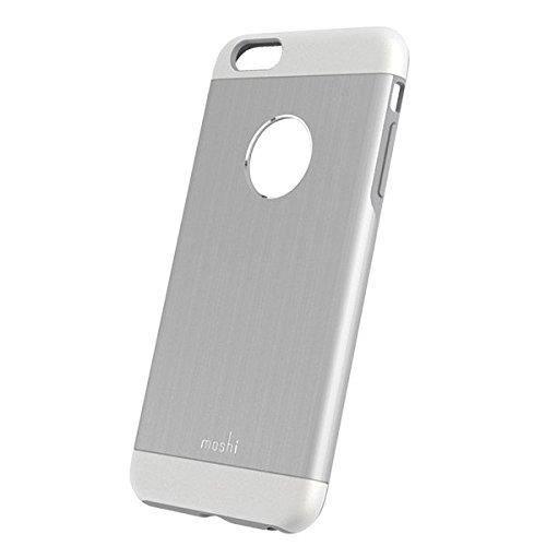 MOSHI Coque iGlaze Armour pour iPhone 6 Plus/6s Plus - Argent