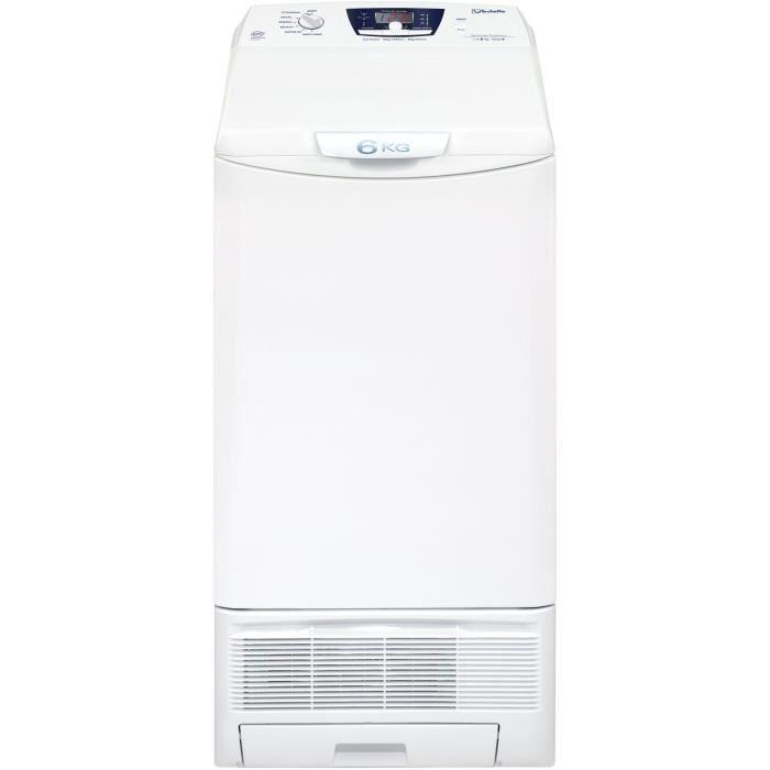 VEDETTE VST561XT - Sèche linge top - 6kg - Condensation - Classe B - Blanc