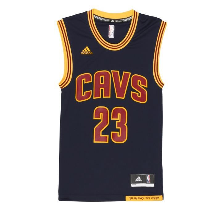 premium selection 25c42 3f165 ADIDAS PERFORMANCE Maillot NBA Replica Cleveland Cavaliers  23 Lebron James  Homme BKT