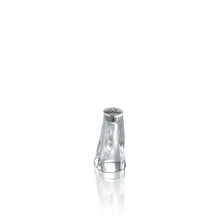 SALIERE - POIVRIERE Alessi PZ09 Salière individuelle Transparent-Chrom