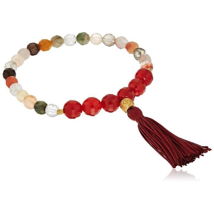 Satya Jewelry Mala Bracelets Onyx Charm Bracelet W6QX9