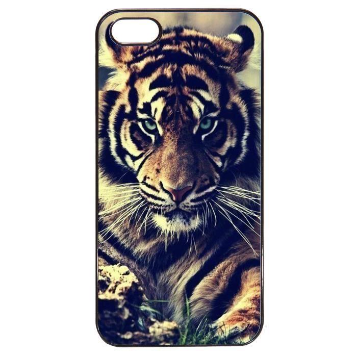coque iphone 5 tigre