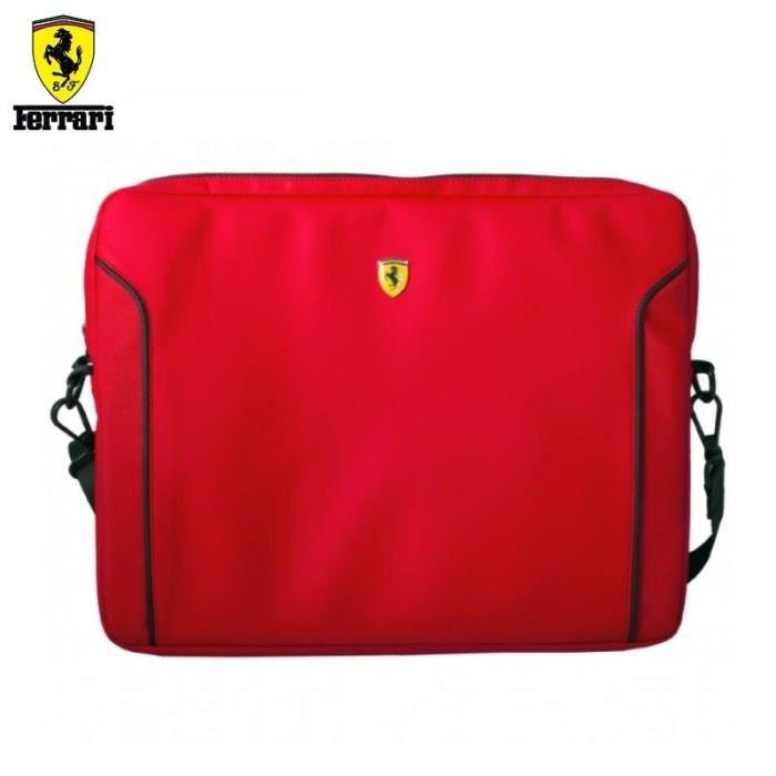 a5792828dd Ferrari Fiorano Housse pour Ordinateur Portable 13' Rouge - Prix pas ...