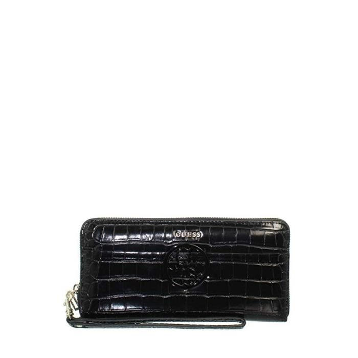 2f3867b8b6 Portefeuille Guess Kamryn SLG Black - Achat / Vente portefeuille ...