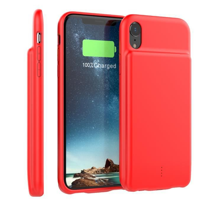 iphone xr coque rechargeable
